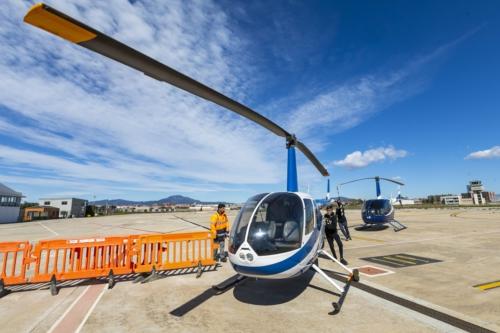 l'helicópter Robinson 44 Cadet